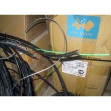 Оптический кабель Б/У для внешней прокладки (с металлическим тросом) в Пскове, оптокабель БУ (Псков)