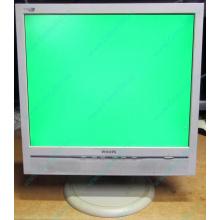 """Б/У монитор 17"""" Philips 170B с колонками и USB-хабом в Пскове, белый (Псков)"""